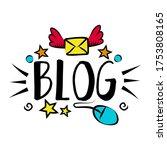 vlog and blog design concept...