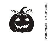 pumpkin  halloween  icon ...   Shutterstock .eps vector #1753847888