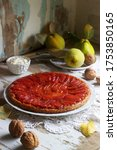 Quince Tarte Tatin Served With...