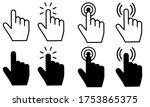 pointer cursor mouse vector...   Shutterstock .eps vector #1753865375