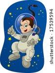 space kid  2 | Shutterstock . vector #17539594