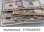 Dollars Closeup Concept....