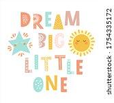 Dream Big Little One   Hand...