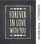 chalkboard style greeting card