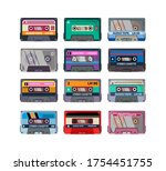 Different Stereo Cassettes Fla...