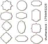 cadre clip art graphics  ... | Shutterstock .eps vector #1754492225