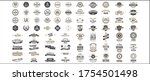 vintage vector label for banner ... | Shutterstock .eps vector #1754501498