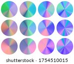 holographic concentric metallic ...