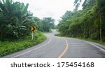 road on mountain in country | Shutterstock . vector #175454168