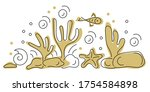 copy the space for the text.... | Shutterstock .eps vector #1754584898