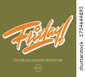 """friday "" custom expressive... 