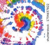 spiral swirl. saturated grunge... | Shutterstock .eps vector #1754657822