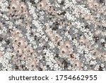 floral fashion print design for ... | Shutterstock .eps vector #1754662955
