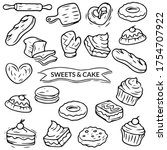 Sweets And Cake Sketching...