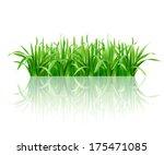 grass. vector eps 10. | Shutterstock .eps vector #175471085