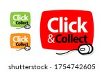 click an collect with computer... | Shutterstock .eps vector #1754742605