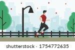 vector illustration of man... | Shutterstock .eps vector #1754772635