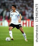 Small photo of Dortmund, GERMANY - July 04, 2006: Michael Ballack in action during the 2006 FIFA World Cup Germany Germany v Italy at Westfalenstadion.