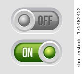 toggle switch sliders on and...