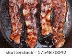 Crispy Smokey Fried Bacon Slice ...