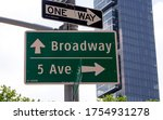 Iconic Avenue Signs In New York ...