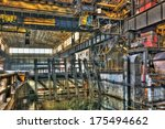 inside a disused metalworking... | Shutterstock . vector #175494662