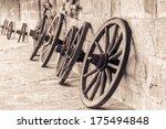 Wheel Of Time. Vintage Black...