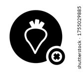 daikon  icon or logo isolated...   Shutterstock .eps vector #1755029885
