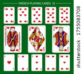 french playing cards suit...   Shutterstock .eps vector #1755083708