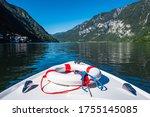 Boating On Lake Hallstatt With...