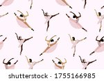 seamless cute pattern with ... | Shutterstock .eps vector #1755166985