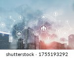 3d gears and people icons....   Shutterstock . vector #1755193292