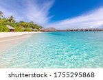 Perfect White Sand Beach And...