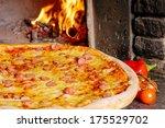 american pizza | Shutterstock . vector #175529702