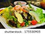 Salad With Avocado And Shrimp...