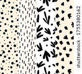 set of seamless patterns....   Shutterstock .eps vector #1755380162