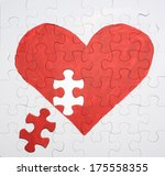 Puzzle Heart Need One Piece