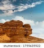Face In The Rock Outcrops At...