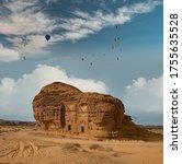 Tombs At Mada'in Saleh...