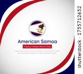 abstract american samoa country ...   Shutterstock .eps vector #1755712652