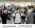June 12  2020 Hong Kong.a...