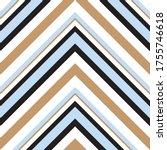 sky blue chevron diagonal... | Shutterstock .eps vector #1755746618