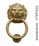 Lion's Head Door Knocker...