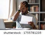 Stressed African Businessman...