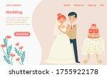 character lovely couple... | Shutterstock .eps vector #1755922178