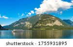 Hallstatt Lake  Salzkammergut ...