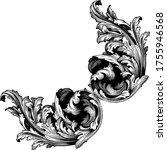 classical baroque vector of...   Shutterstock .eps vector #1755946568
