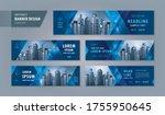 abstract banner design web... | Shutterstock .eps vector #1755950645