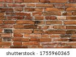 brown brick close up texture... | Shutterstock . vector #1755960365