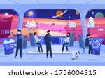 planet colonization mission ...   Shutterstock .eps vector #1756004315